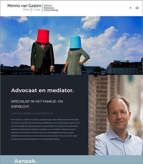 Website | Menno van Gaalen Family Law